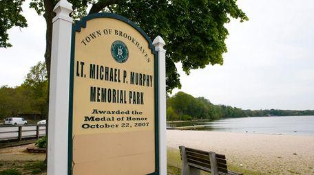 Lt. Michael P. Murphy Memorial Park on Lake