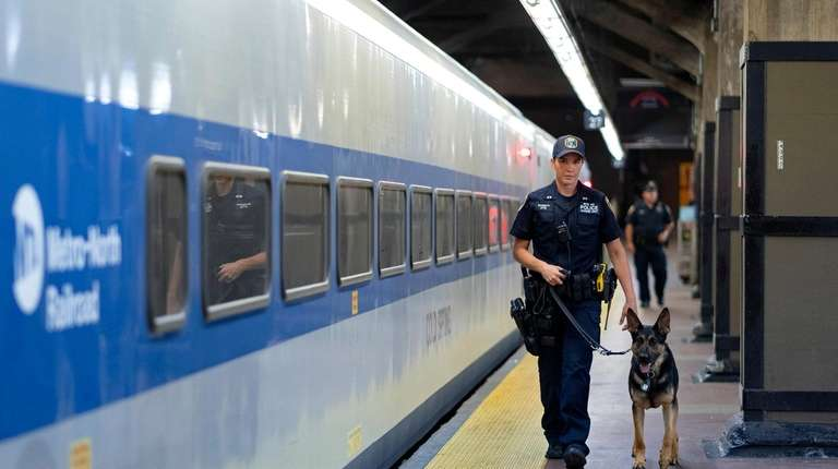 MTA Police Officer Alison Schmitt and her German