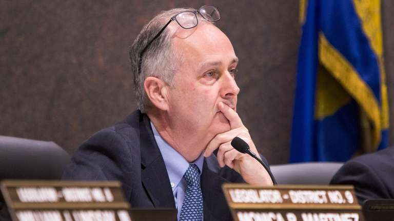 Suffolk Legislative Counsel George Nolan earned praise for