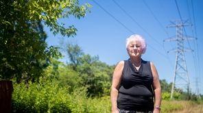 Anna Rung lives near power lines in Centereach.