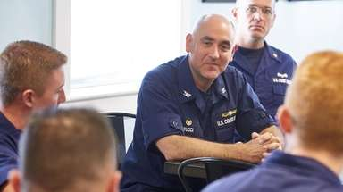 Capt. Andrew Tucci, head of Coast Guard Sector