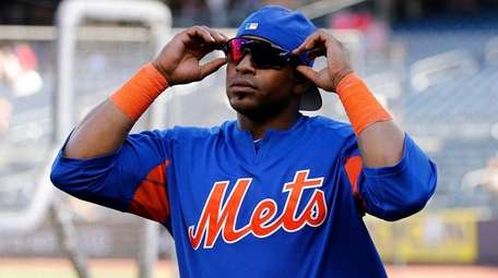 Yoenis Cespedes played in Friday night's game, but