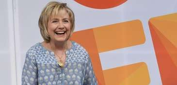 Hillary Clinton speaks at OZY FEST in Central