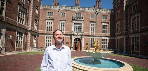 R. Keith Michel, president of Webb Institute in