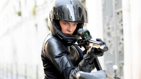 Rebecca Ferguson as Ilsa Faust in MISSION: IMPOSSIBLE