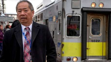 LIRR president Phillip Eng, seen at the Mineola