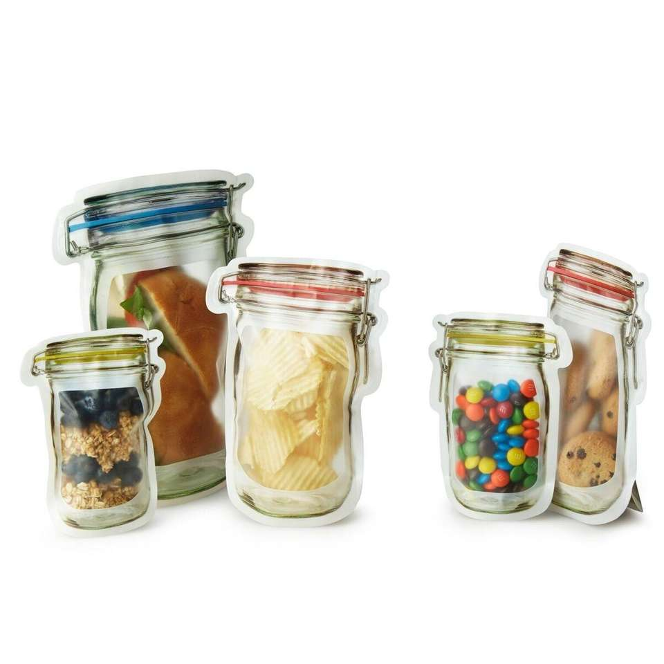 Mason jars have never been easier to store.