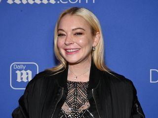 Lindsay Lohan at the 2017 DailyMail.com & DailyMailTV