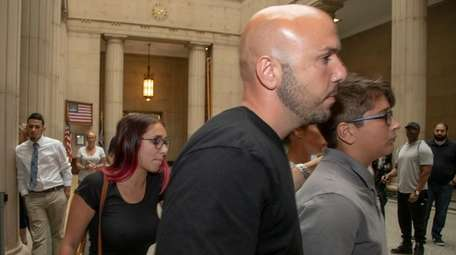 Tiffany and Robbie Crumb leave the Nassau County