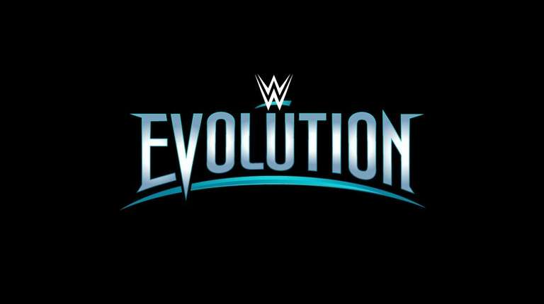 The logo for WWE Evolution, which will take