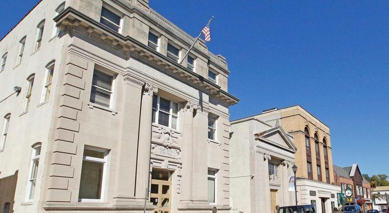 Glen Cove City Hall on Glen Street. as