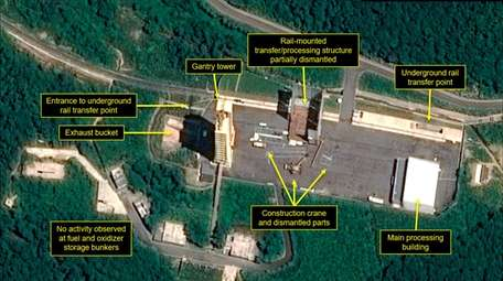 A U.S. research group says this satellite image