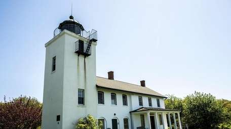 Horton's Point Lighthouse built in 1857 in Southold