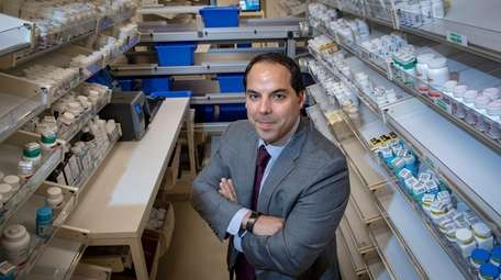 Onisis Stefas, Northwell's chief pharmacy officer, at the