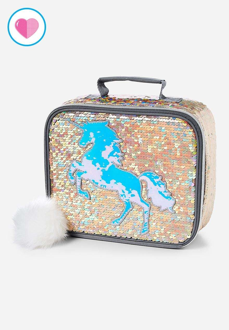 This playful flip-sequin design comes with a majestic