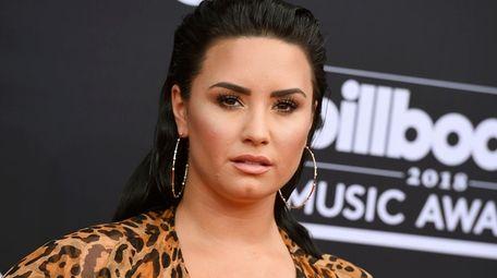 Demi Lovato, seen in Las Vegas in May,
