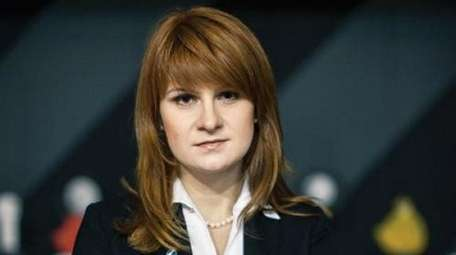 Russian Maria Butina in a photo for the
