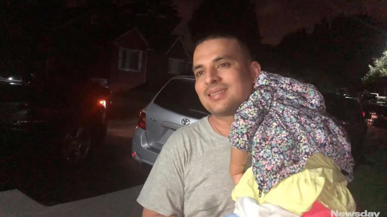 Pablo Villavicencio returned home early Wednesday morning after