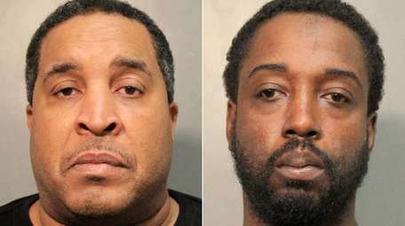 Mark Hoousendove, left, and Donald Hayes are charged