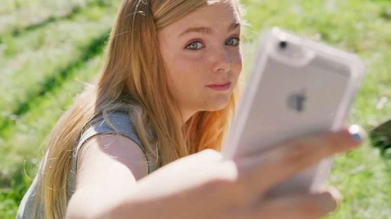 "Elsie Fisher stars  in ""Eighth Grade."""