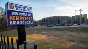 Hempstead High School on Tuesday, Feb. 13, 2018