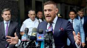 On Thursday, UFC figher Conor McGregor entered into