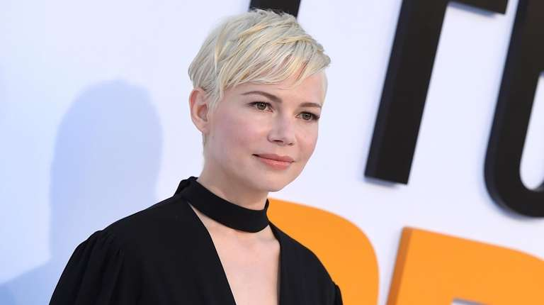"Michelle Williams attends the world premiere of ""I"