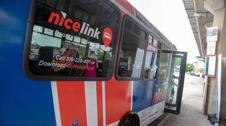 The Nassau Inter-County Express (NICE) rolled out its
