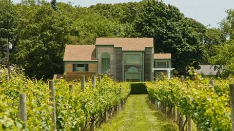 Castello di Borghese Vineyard and Winery in Cutchogue,