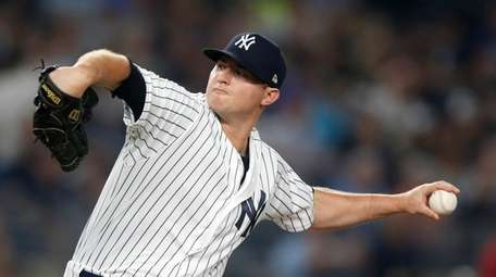 Zach Britton #53 of the New York Yankees