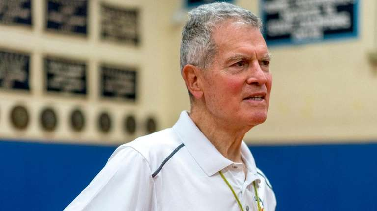 Basketball coach Gus Alfieri led St. Anthony's High