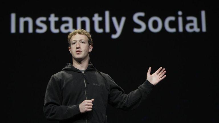 Facebook chief executive Mark Zuckerberg. (April, 2010)