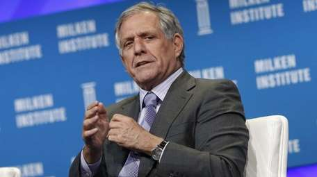 Les Moonves, president and chief executive officer of