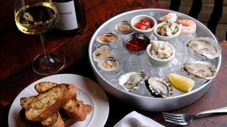 Shellfish was a specialty at Element Seafood in