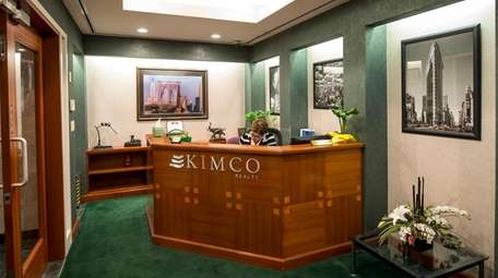 An interior view of Kimco Realty Corp., a