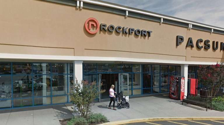 The Rockport store in Riverhead closed Friday.