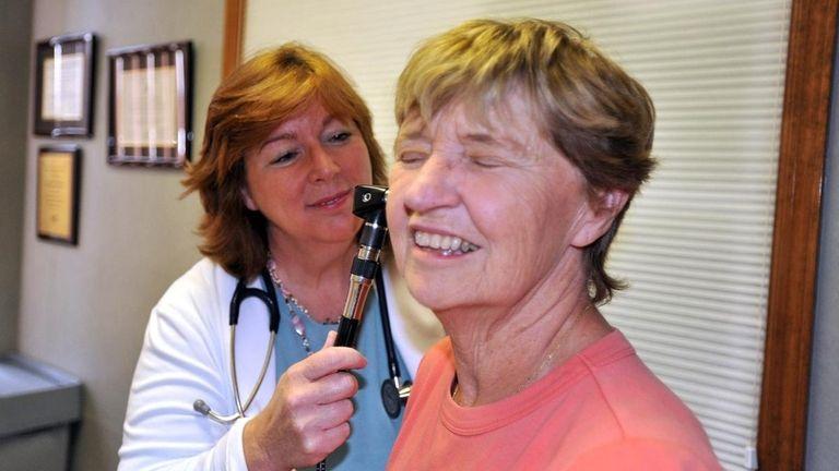 Nurse practitioner Margaret