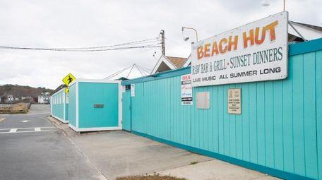 The Beach Hut concession at Meschutt Beach County