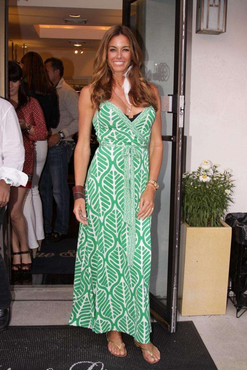 Kelly Bensimon at Blue & Cream in East