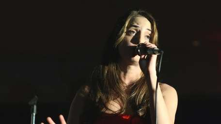 Pop singer Alexa Ray Joel performs at a