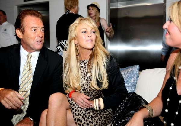 FILE - Dina Lohan, mother of Lindsay Lohan,