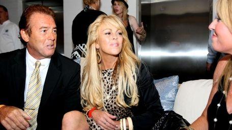 FILE - Dina Lohan, mother of Lindsay Lohan,