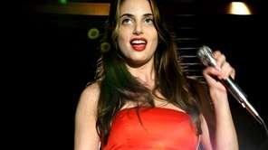 Singer Alexa Ray Joel performs at the Allegria