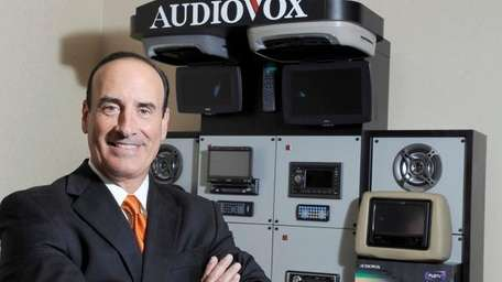 Patrick Lavelle, president and chief executive of Audiovox,