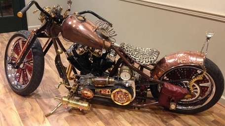 """""""Motorcycles Through Time"""" at the Stony Brook Village"""