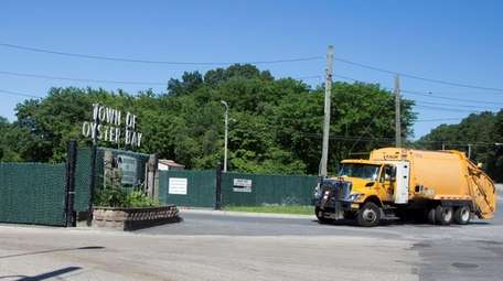 The Old Bethpage Landfill site on Bethpage-Sweet Hollow