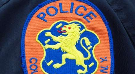 A Nassau County Police Department patch.