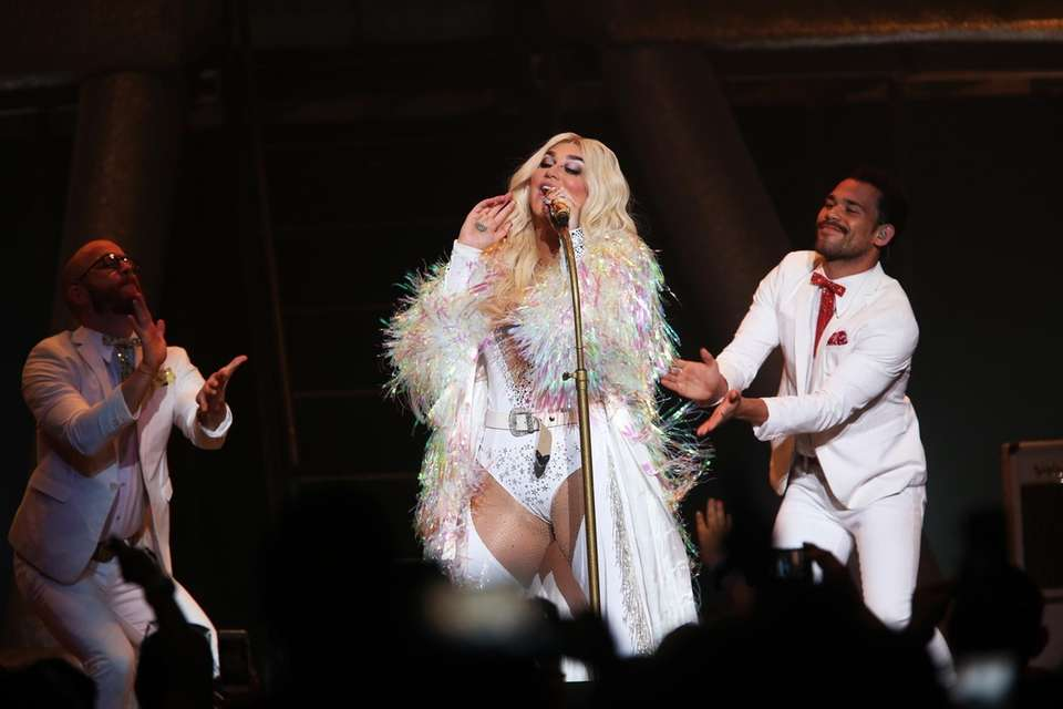 Kesha in concert at the Northwell Health at