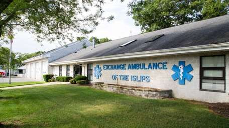 The Exchange Ambulance of the Islips, which provides