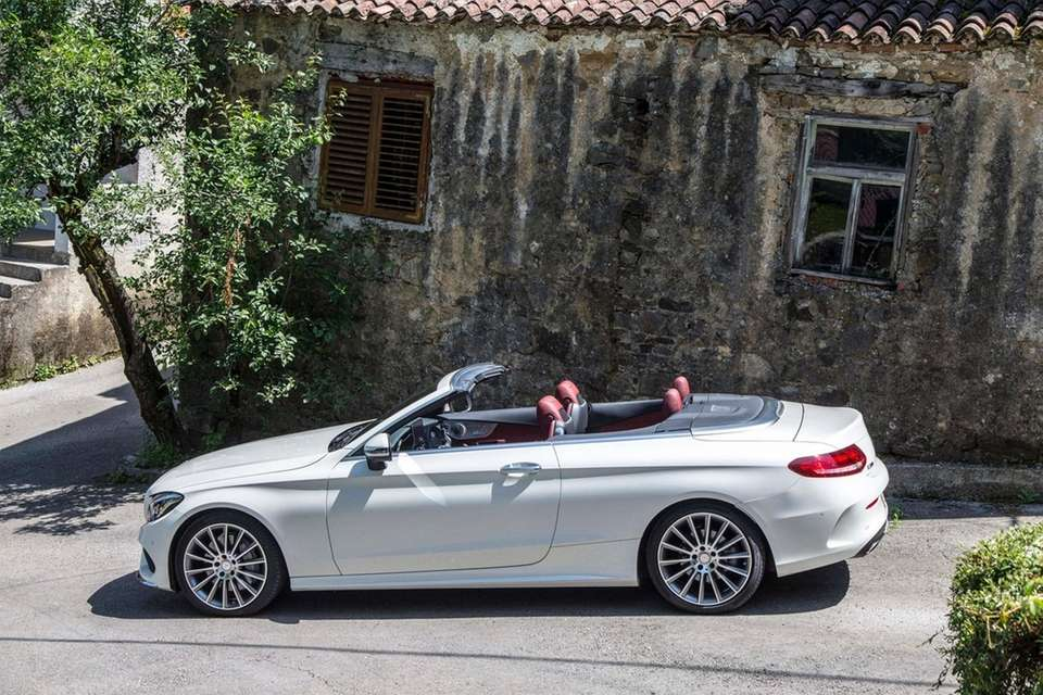 2017 Mercedes-Benz C-Class Cabriolet: On sale in September.